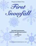 First Snowfall for Orff Ensemble