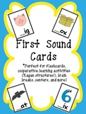 First Sound Cards-cooperative learning activities