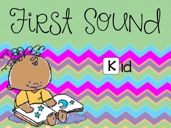 First Sound - Fill it in