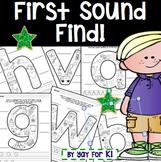 Find the Beginning Sound Packet