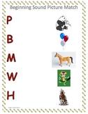 Phonemic Awareness Practice First Sound Fluency