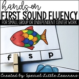 First Sound Fluency Activities
