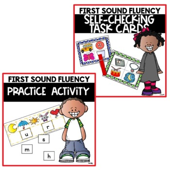 Initial Sound Fluency Activities