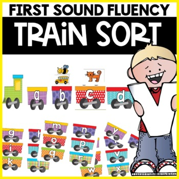 First Sound Fluency Alphabet Practice Activity