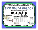 Beginning Sounds ~ First Sound Fluency (m, a, s, t, and p)