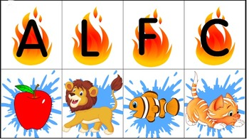 First Sound Fluency Cards