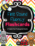 First Sound Fluency Flashcards Free