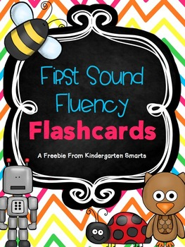 First Sound Fluency Flashcards Free