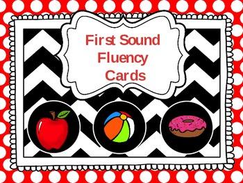 First Sound Fluency Freebie