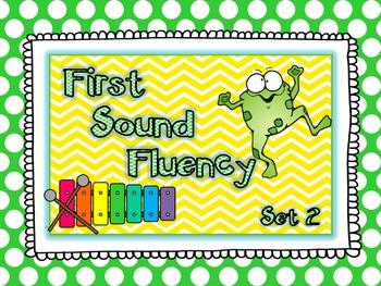 First Sound Fluency Freebie Set 2