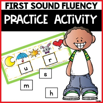 First Sound Fluency Practice Game Alphabet Letter Sound Id
