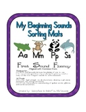 First Sound Fluency- Sorting Mats - Common Core Aligned (M