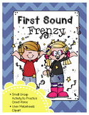 First Sound Frenzy (onset-rime practice) (great for RtI)