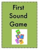 First Sound Games