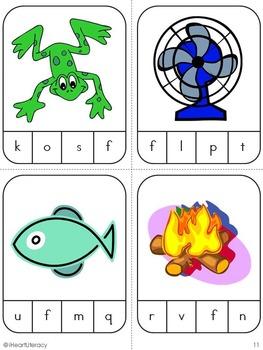 First Sound Match Game: Kindergarten & 1st Grade RTI