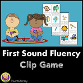 First Sound Match Game: Kindergarten & 1st Grade RTI