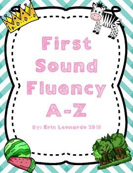 First Sound Phonics Bundle
