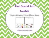 First Sound Sort Freebie