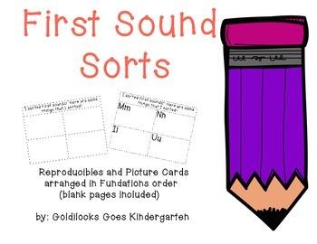 First Sound Sorts