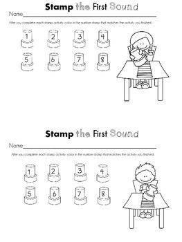 First Sound Fluency