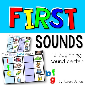 First Sounds: A Magnetic Letter Center