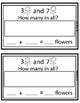 First Step Story Problems: Addition, Subtraction, Mixed to 10 (Garden Theme)