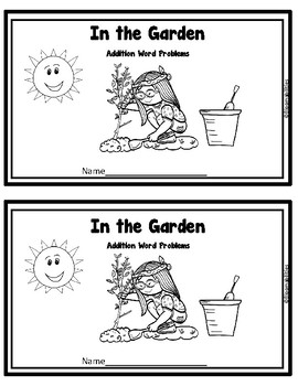 First Steps Story Problems: Addition, Subtraction, Mixed to 10 (Garden Theme)