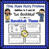 First Steps Story Problems: Addition to 5 & 10 (Hanukkah Theme)