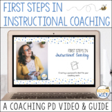 First Steps in Instructional Coaching Professional Develop