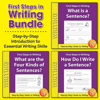 First Steps in Writing {Bundle}