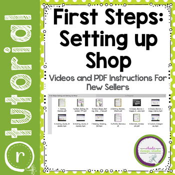 First Steps to Selling on Teachers Pay Teachers