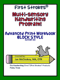 First Strokes Advanced Print BLOCK Workbook