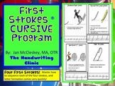 First Strokes Multi-sensory CURSIVE Handwriting Program