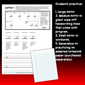 DISTANCE LEARNING First Strokes Cursive Handwriting - INDIVIDUAL LICENSE