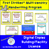 DISTANCE LEARNING First Strokes Multi-sensory Handwriting
