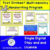 First Strokes Multi-sensory Handwriting Program - Single User Digital Copy