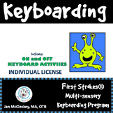 First Strokes Multi-sensory Keyboarding Program and Manual - Individual License