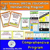 Handwriting Practice Curriculum for Special Education  BUNDLE