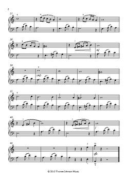 First Tango - A Level 4 Piano Solo