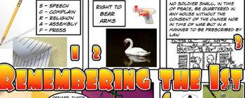 First Ten Amendments - Comic Version