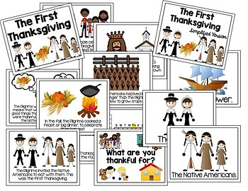 Thanksgiving Unit for Autism and Special Education {First Thanksgiving}