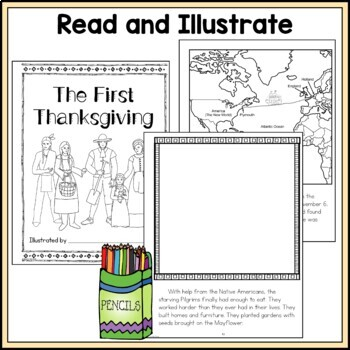 The First Thanksgiving Story; Thanksgiving Activity; Special Homework Assignment
