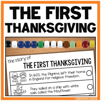 Thanksgiving Activities - First Thanksgiving Bracelet