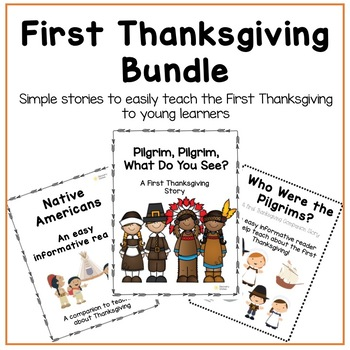 First Thanksgiving Story Bundle