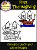 First Thanksgiving Clip Art (School Designhcf)