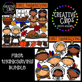 First Thanksgiving {Creative Clips Digital Clipart}