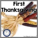 First Thanksgiving Dinner Unit   Thanksgiving Activities  