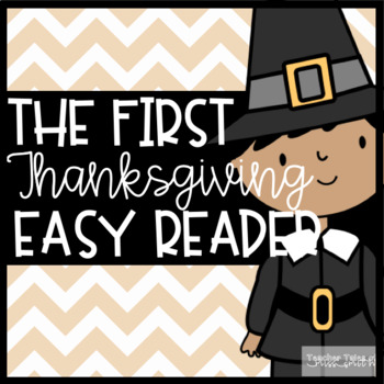 First Thanksgiving Emergent Reader