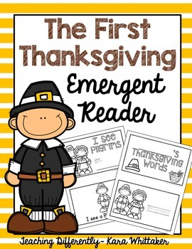 Thanksgiving Emergent Reader {FREE}