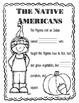First Thanksgiving Fact Journal